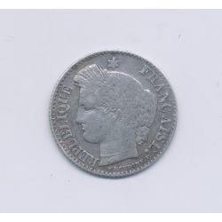 20 centimes Cérès - 1850 A Paris - TB+