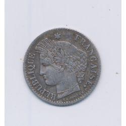 20 centimes Cérès - 1850 K Bordeaux - oreille haute - TTB