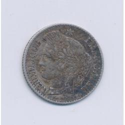 20 centimes Cérès - 1851 A Paris - TTB