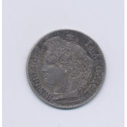 20 centimes Cérès - 1851 A Paris - TTB+