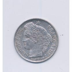 20 centimes Cérès - 1851 A Paris - SUP