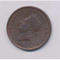 Angleterre - George IV - Penny 1826 - cuivre - TB+