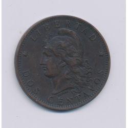 Argentine - 2 Centavos - 1891 - bronze - TTB