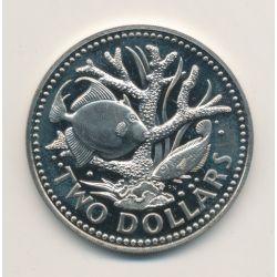 Barbades - 2 Dollars - 1977