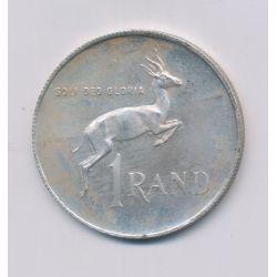 Afrique du sud - 1 Rand - 1972 - argent - SUP