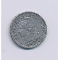 Argentine - 5 Centavos - 1898 - cupronickel - TTB