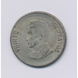 Colombie - 20 Centavos - 1953 B - argent - TTB