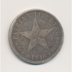 Cuba - 40 centavos - 1916