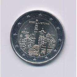 2€ Lituanie 2020 - la colline des croix