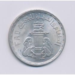 Egypte - 1 Pound - 1981 - argent - SPL