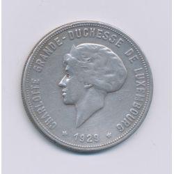 Luxembourg - 10 Francs - 1929 - argent - TTB