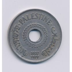 Palestine - 20 Mils - 1927 - cupronickel - TTB