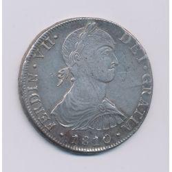 Pérou - 8 Reale - 1810 JP Lima - Ferdinand VII - argent - TTB/TTB+
