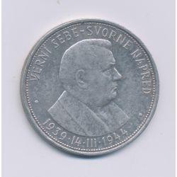 Slovaquie - 50 Korun - 1944 - argent - TB+