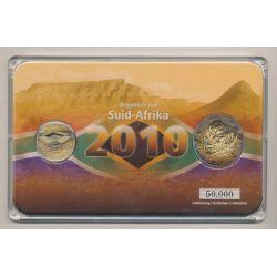 5 Rand + Médaille Nelspruit  Botanic gardens - Coffret Coupe du monde Afrique du Sud 2010