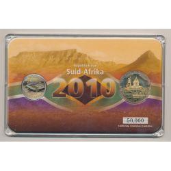 5 Rand + Médaille Bloemfontein - Coffret Coupe du monde Afrique du Sud 2010