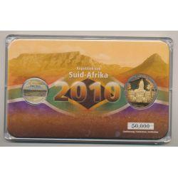 5 Rand + Médaille Cape Town - Coffret Coupe du monde Afrique du Sud 2010