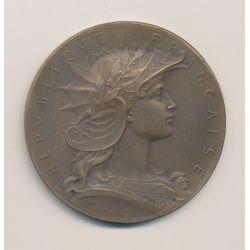 Médaille - Concours de Tir - bronze - 51mm - TTB
