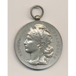 Médaille - Offerte par le journal Le Stand - bronze argenté - 51mm - TTB+