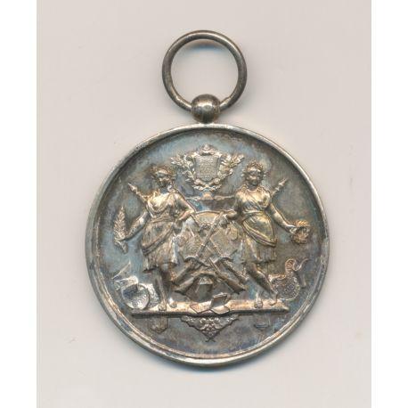 Médaille - Société de gymnastique et instruction militaire - Gironde - gravé Champion 1896 - 37mm - bronze - TTB