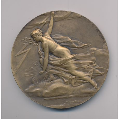 Médaille - Syndicat général de la construction électrique - bronze - 68mm
