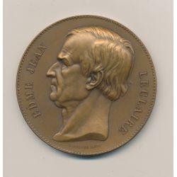 Médaille - Edme Jean Leclaire - Société de prévoyance et secours mutuels - bronze - 51mm