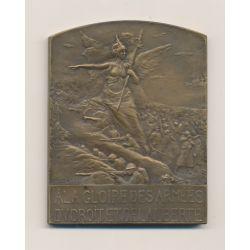 Médaille - A la gloire des armées - du droit et de la liberté - bronze - Legastelois