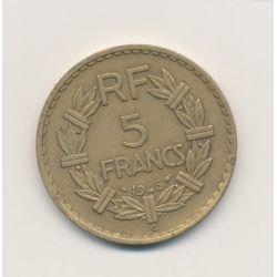 5 Francs Lavrillier - 1946 C - TTB