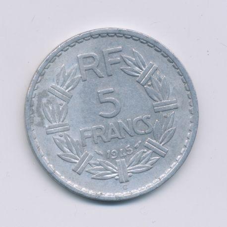 5 Francs Lavrillier - 1945 C - TB+