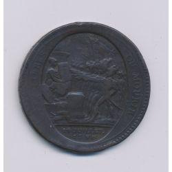 Monneron 5 Sols au pacte fédératif - 1792 - B