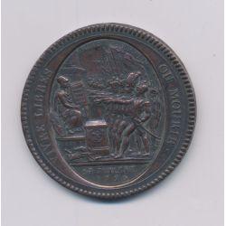 Monneron 5 Sols au pacte fédératif - 1792 - SUP