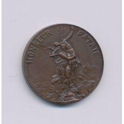 Médaille - Société de tir - Concours international de l'exposition - 7e concours - bronze - 21mm