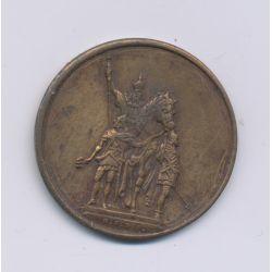 Médaille - exposition universelle 1878 - cuivre - 27mm - TTB