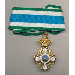 Médaille - Dévouement Civique Commandeur - vivre et sourire - uniface