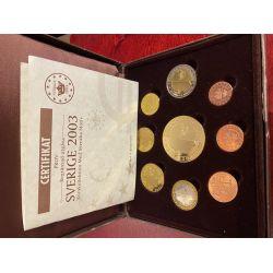 Essai/Probe - Coffret 8 Pièces + 1 médaille - Suéde - 2003