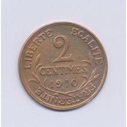 2 centimes Dupuis - 1910 - TTB