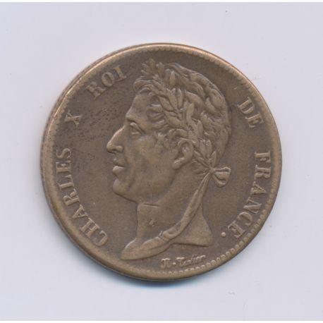 Colonies générales - 5 centimes 1825 A Paris - Charles X - TTB+