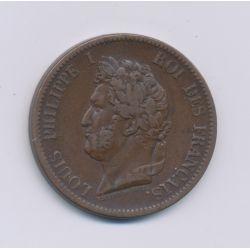 Colonies générales - 5 centimes 1841 A - Louis Philippe I - Guadeloupe - TB+