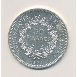50 Francs Hercule - 1974  - TTB+
