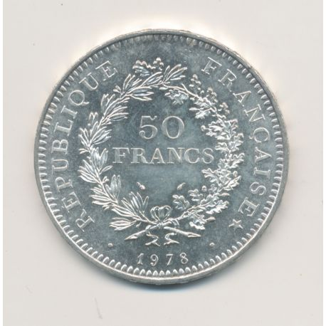 50 Francs Hercule - 1977  - TTB+