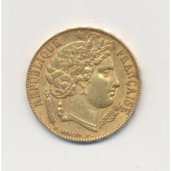 Cérès - 20 Francs Or - 1851 A Paris