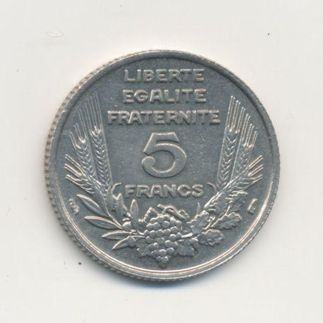 5 Francs bazor - 1933 - TTB+