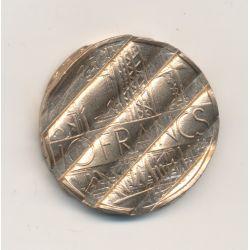 10 Francs Mathieu - annulée et déformée