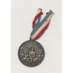 Médaille - Arrondissement de Saintes - a ses prisonniers - 21mm