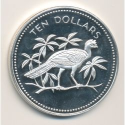 Belize - 10 Dollars - 1976