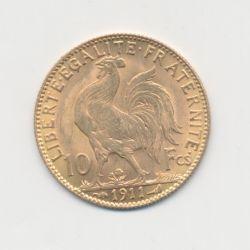 Coq/Marianne - 10 Francs Or - 1911 - TTB