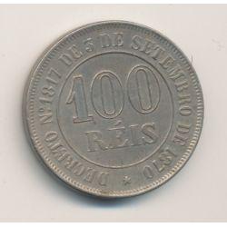Brésil - 100 REIS - 1871