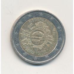 2€ Pays-Bas 2012 - 10ans Euro