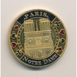 Médaille - Paris Notre Dame - 40mm - cuivre
