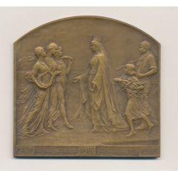 Médaille - Exposition Universelle de Gand - 1913 - Bronze - SUP
